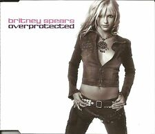 BRITNEY SPEARS Overprotected /I'm a Slave MIXES &DUB & INTERVIEW CD Single SEALD