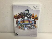 SKYLANDERS GIANTS for NINTENDO Wii game ONLY- NO figures or portal