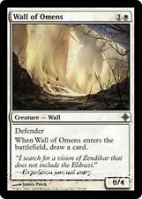 WALL OF OMENS Rise of the Eldrazi MTG White Creature — Wall Unc