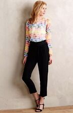 Anthropologie Maile Blouse By Line & Dot Silk Gorgeous Colors Sz S New $148