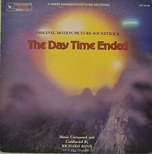 "OST - SOUNDTRACK - THE DAY TIME ENDET - RICHARD BAND  12""  LP (M977)"