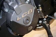 R&g Negro LeftHand Carbono Motor Funda Control Deslizante Para Ktm 950 Sm Supermoto