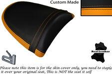 ORANGE & BLACK CUSTOM FITS KAWASAKI Z750 Z1000 04-06 DESIGN 2 REAR SEAT COVER