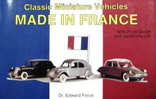Made in France Katalog catalogue catalogus French model cars Norev Minialuxe Cle