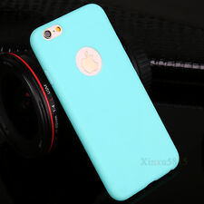 Ultra Slim Rubber Soft TPU Silicone Back Case Cover for Apple iPhone 7 7 Plus