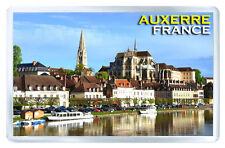 AUXERRE FRANCE FRIDGE MAGNET SOUVENIR