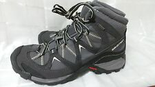 New Men's Salomon Crossroad Mid GTX 355609 Shoes  Size 8.5   Grey   123Y