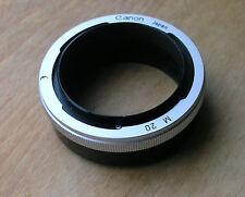 Genuine Canon FL FD MANUALE 20mm Tubo di prolunga non automatico m20