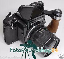 Pentax 67 + ttl prismes viseur + smc 1:4 55mm + manche bois