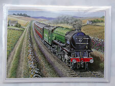 Nostalgic New A1 Pacific No 60163 Tornado Steam Train Design Happy Birthday Card