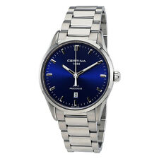 Certina DS-2 Blue Dial Stainless Steel Mens Watch C0244101104120