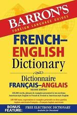 Barron's French-English Dictionary: Dictionnaire Francais-Anglais  (ExLib)