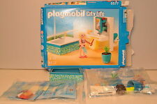 "D517 Playmobil ""City Life' #5577 Bathroom / Salle de Bain - **INCOMPLET**"