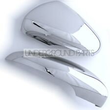 CHROME SIDE LEFT AND RIGHT DOOR WING MIRROR COVERS TRIMS KIT CAPS VW GOLF MK6