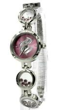 New RocaWear Women Circular Motion Steel Pink Watch 23mm RL244852 $95