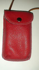 "ROOTS  CELL PHONE WALLET CADDY - FREE WITH THE "" RED RIDINGHOOD"" LISTING"