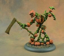 Painted Reaper Miniature Rotpatch, Pumpkin Golem Halloween themed