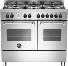 Bertazzoni MAS1006MFEDX Master 100cm Dual Fuel Stainless Steel Range Cooker