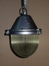 Industrial Factory Cage Vintage Retro Pendant Light Lamp