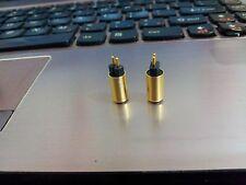 1Pair Gold Plug DIY westone UM1 Pin Plug Connector