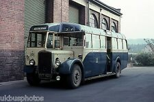 Rotherham Corporation Transport No.123 depot Bus Photo