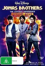 Jonas Brothers - The Concert Experience - Extended Movie (DVD, R4, 2009, Music)