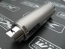 Triumph TT 600 2000 2001 2002 2003 GP Style Titanium Race Exhaust Can Silencer