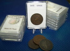 Coin holders Slab Style for Canadian Large Token-- size 34 mm **10 pcs**l