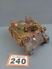 WARHAMMER Space Marine del Caos Rhino Tank 240