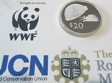 1978 ROYAL MINT FIJI $20 DOLLAR SILVER PROOF GOLDEN COWRIE COIN CONSERVATION