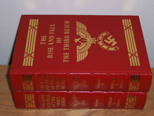 easton press RISE AND FALL OF THE THIRD REICH 2 vols William L Shirer
