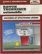 (35A)  REVUE TECHNIQUE AUTO DIESEL DE TOURISME : Voiture et Utilitaires légers