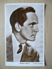 Vintage Film Star Real Photo Postcard- FREDRIC MARCH, Paramount Pictures