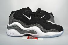 NEW Nike Air Zoom Flight 96 JASON KIDD BLACK WHITE 317980-002 sz 9.5