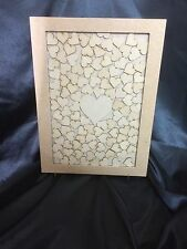 Wedding Drop Box Guest Book Complete With Hearts A3