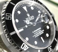 Rolex SUBMARINER 16610 Mens Stainless Steel Oyster Bracelet Black Dial 40MM