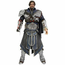 "ASSASSIN'S CREED BROTHERHOOD EZIO 7"" ACTION FIGURE ONYX COSTUME UNHOODED LIMITED"