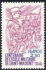 France 1981 Military/Army/Soldiers/St Maixent Academy/Sports/Horses 1v (n43373)