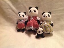 Calico Critters/Sylvanian Families  Panda Family & Baby