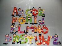 Holzbuchstaben Kinder CLOWN Buchstaben Clown Holz bunt Baby Neu