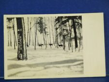 In The Land-O-Lakes  Wisconsin #11 1931 RPPC Used B&W PC10