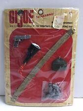 GI Joe GIJOE VINTAGE ORIGINAL GUN SET ACCESSORIES NEW IN PACKAGE NRFB MIB MIP