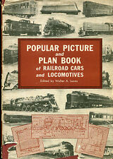 Popular Picture & Plan Book of Railroad Cars & Locomotives - Lucas - (1951,hb)