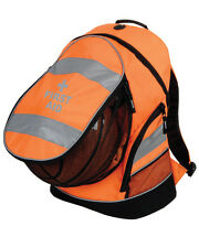 1 x FIRST AID Orange Hi-Vis Rucksack/Work Bag - Paramedic, Ambulance & Medic