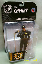 DON CHERRY, NHL Series #19 McFarlane Figure, in Boston Bruins Coach's Gear