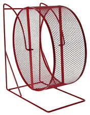 Trixie Exercise  Wheel With Closed Mesh Running Surface Metal Red 61003