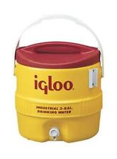 Igloo 431 Beverage Water Cooler, 3 Gallon, Yellow