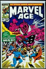 Marvel Comics MARVEL AGE #64 Evolutionary War NM 9.4