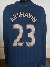 Arsenal Away Shirt (2009/2010* ARSHAVIN 23) large men's Long Sleeves #343