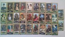 SET OF 29 STAR WARS FORCE FILE BOOKLETS Power Of Jedi Lot figure pack in book